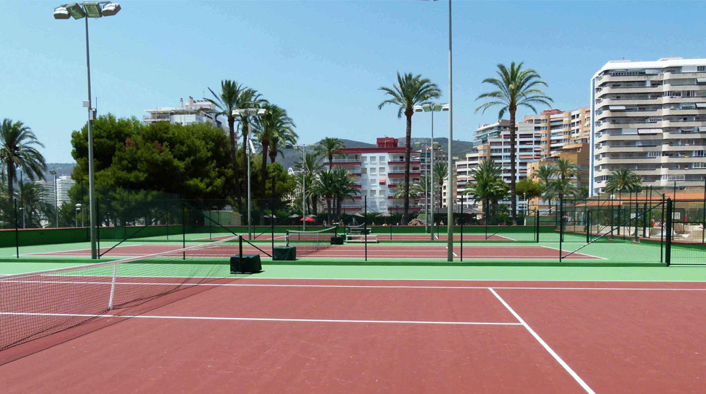 Tennis club Barcelona Spain