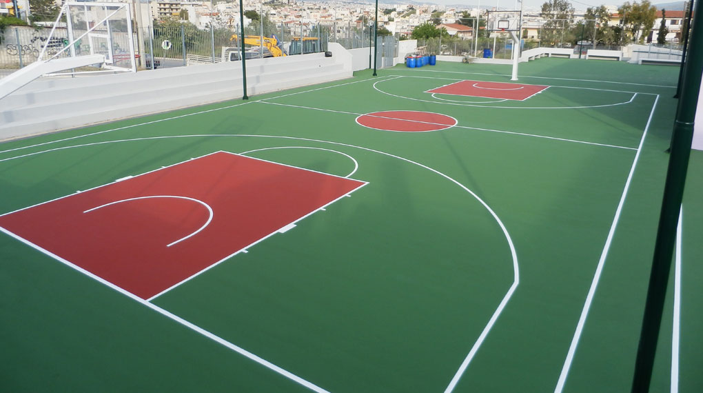 basket court - Greece
